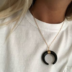 Jewelry - Black Horn Necklace
